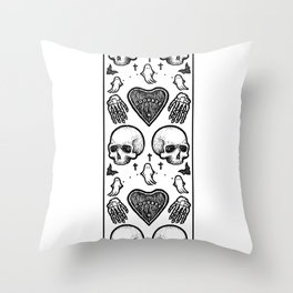 Ghostly Dreams Throw Pillow