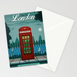 Jolly Ole London Stationery Cards