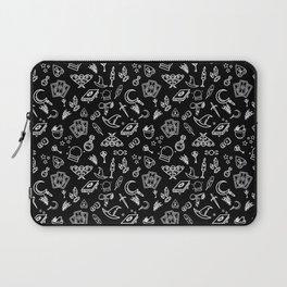Modern Witch - Black Laptop Sleeve