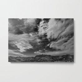 Port Hills Skies Metal Print