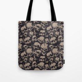 Skulls Seamless Tote Bag