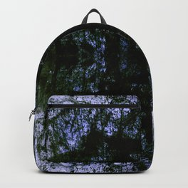 grunge blue Backpack