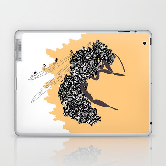 Seeds and the wasp Laptop & iPad Skin