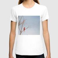 cardinal T-shirts featuring Cardinal by Emily Lewin