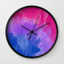 Bisexual Pattern (4) Wall Clock