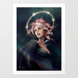 Eos, The Dawn Star Art Print