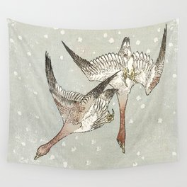 Snow Geese Wall Tapestry