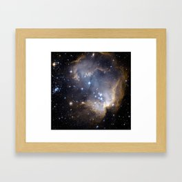 Hubble Space Image Framed Art Print