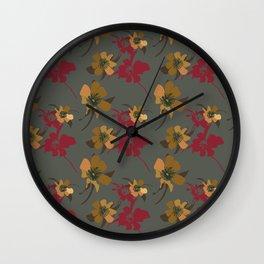Camellia Riches. Wall Clock