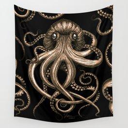 Bronze Kraken Wall Tapestry