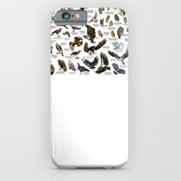 Birds of Prey of the United States iPhone Case
