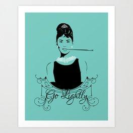 Go Lightly Art Print