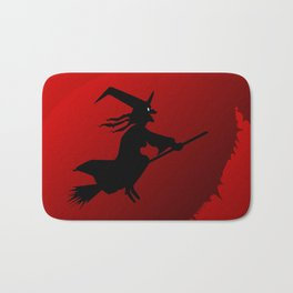 Hallowen Moon Bath Mat
