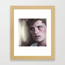 Peeta Framed Art Print