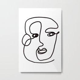 Issa Metal Print