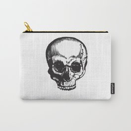 Pen Stroke Skull Carry-All Pouch