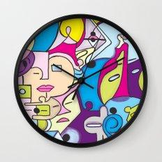 Beach Pop series Wall Clock