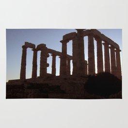 Temple of Poseidon Rug