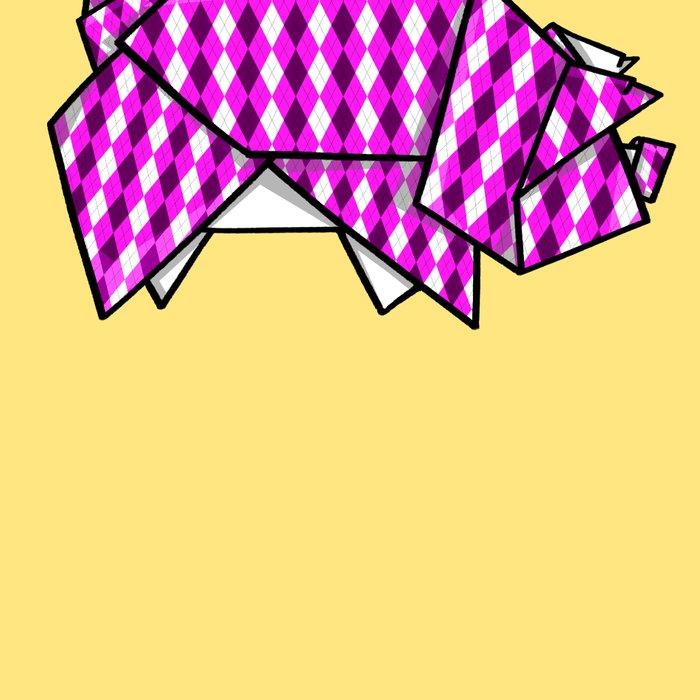 Origami Pig Leggings