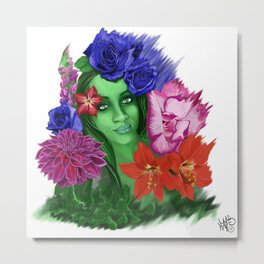 A Bouquet for Her Metal Print