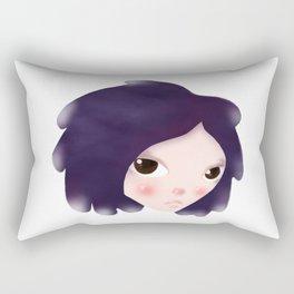 Cosmic Grrrrl Rectangular Pillow