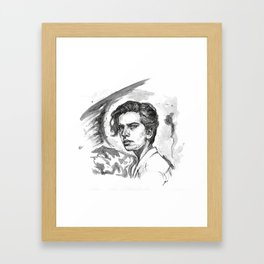 COLE SPROUSE Framed Art Print