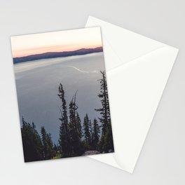Lakeside Sunrise Stationery Cards