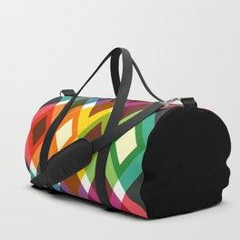 Geometric Pattern #19 (diamonds) Duffle Bag