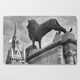 The Brunswick Lion and Town Hall Cutting Board