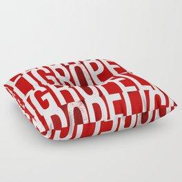 Peligro! Floor Pillow