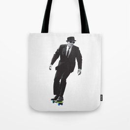Work can wait when it's time to skate. Tote Bag