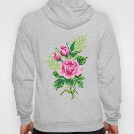Pixel Rose Hoody