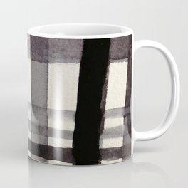 Painterly Plaid Coffee Mug