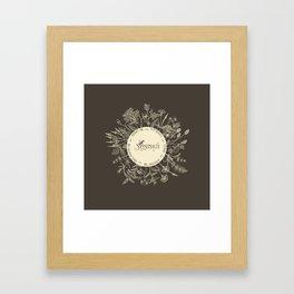 Dear Sassenach in Sepia Framed Art Print