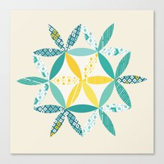Patchwork Sunshine Canvas Print