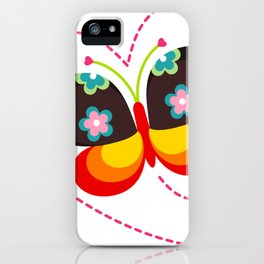 Gipsy Butterfly iPhone Case