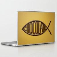 chocolate Laptop & iPad Skins featuring Chocolate by Sebastián Arango Guerrero