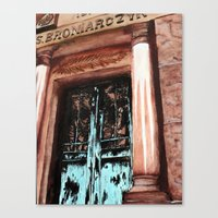 doors Canvas Prints featuring Doors by Kayla Kristine