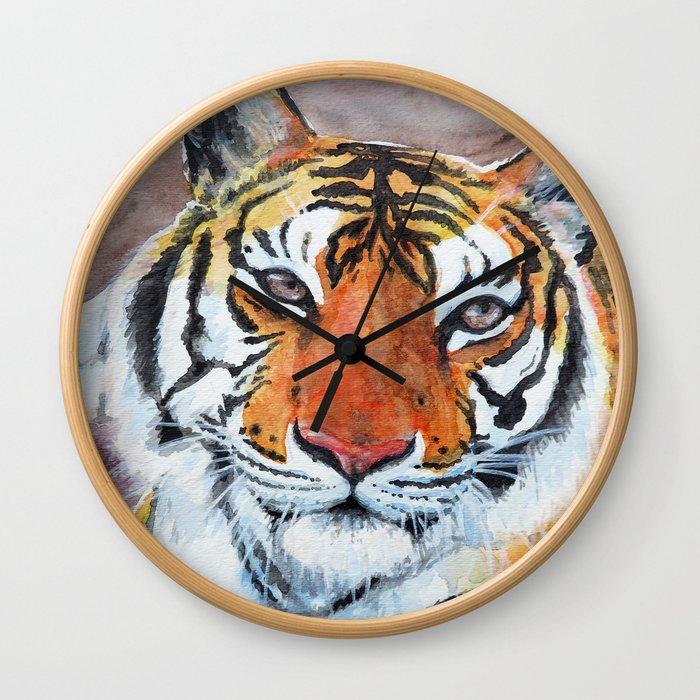 Priya Tigress Wall Clock