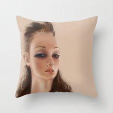Cr4stal  Throw Pillow