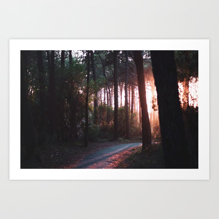 Beautiful Light Art Print