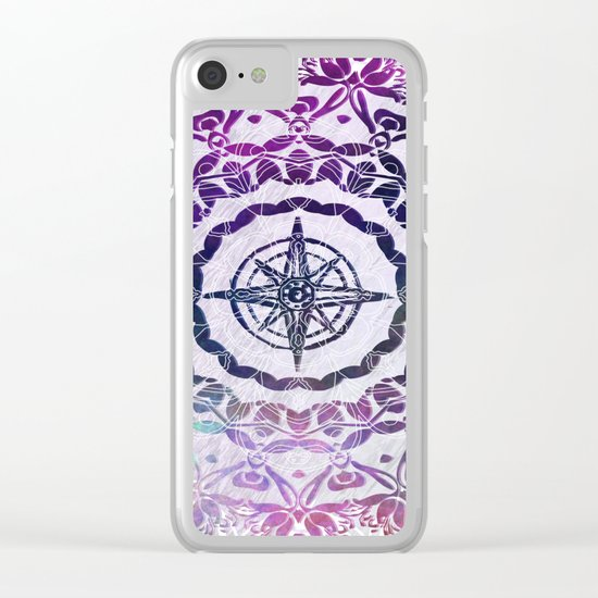 Destination Mandala  Clear iPhone Case