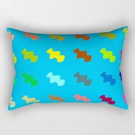 colful pattern 3 Rectangular Pillow