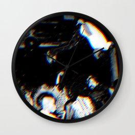 Playboi Carti - Die Lit (Split Color Glitch Effect) Wall Clock