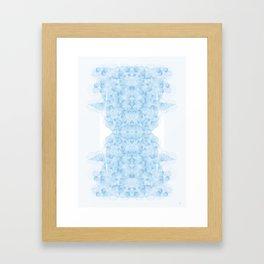 Cloudy judgment Framed Art Print