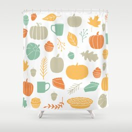 Fall Favorites Shower Curtain