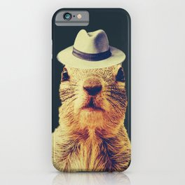 Squirrel with a Hat iPhone Case
