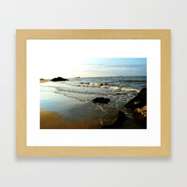 Beach III Framed Art Print