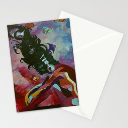 sound and silence Stationery Cards