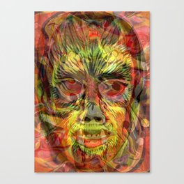Psychedelic Horror Canvas Print